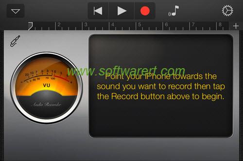 garageband audio recorder for iphone