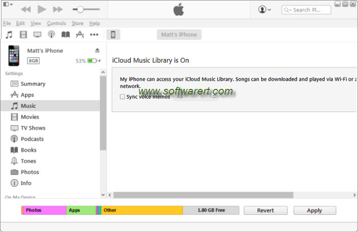 iTunes for Windows is saying icloud music library is on