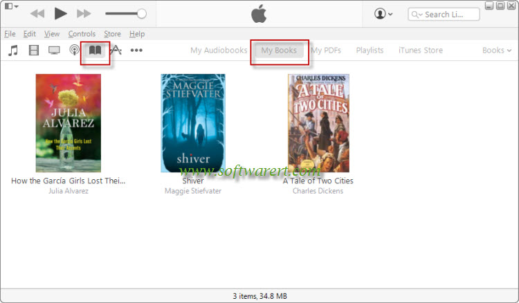 Transfer Books between Android and iOS