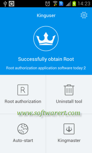 How to grant root permissions to apps from Kinguser on Android phone?