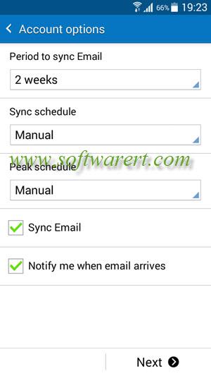 Setup Yahoo mail account on Samsung Galaxy Grand Prime