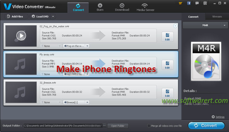 send ringtone from iphone to samsung