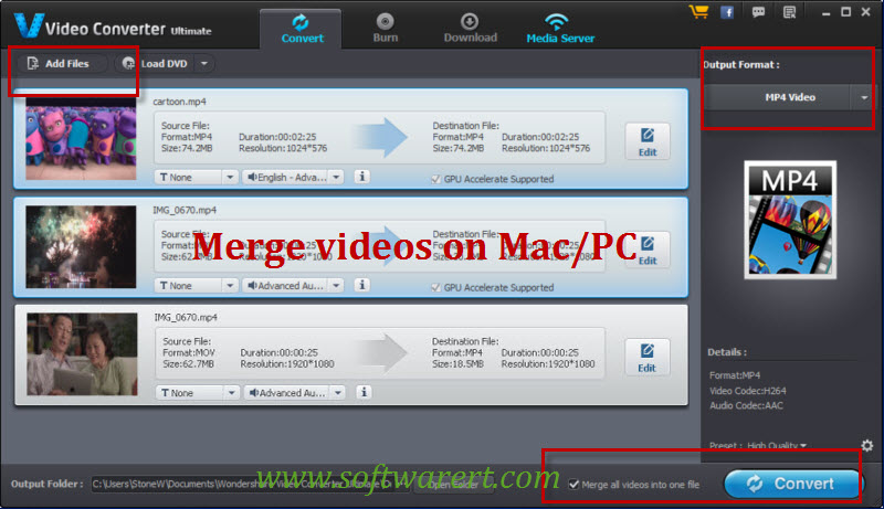 merge mp4 mac