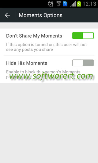 How to block someone in WeChat on Android?
