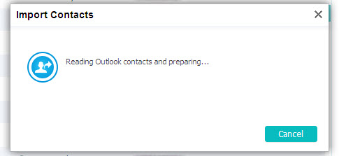 reading outlook contacts