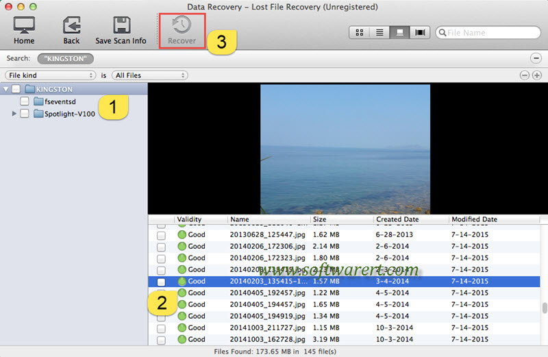 recover files from flash drive on Mac using data recovery