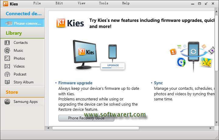 samsung kies 2.6 download for windows xp
