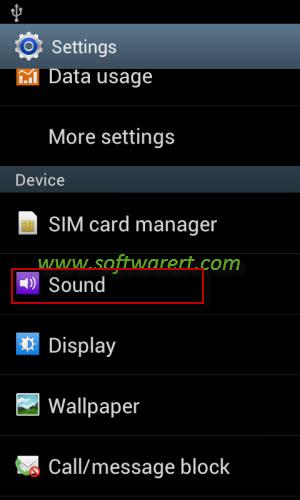 samsung sound settings