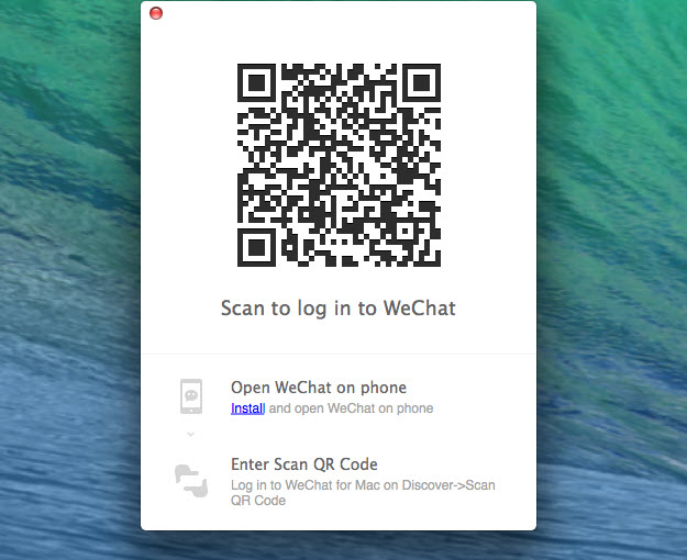Wechat For Mac Log In Without Phone - rasserorder's blog