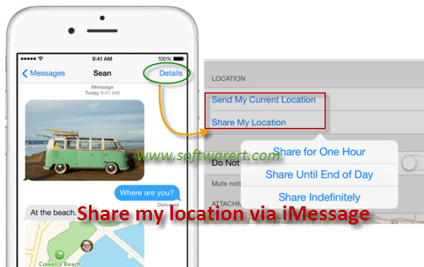 share my location iphone how to your location using iphone 16113