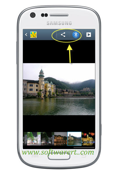 share photos videos on samsung galaxy mobile phone