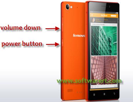 Take Screenshot on Lenovo Phones
