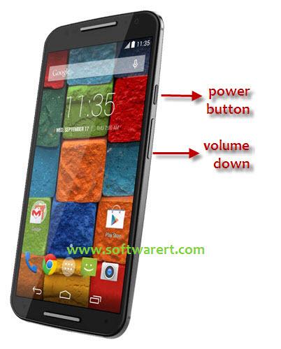 Screenshot Motorola