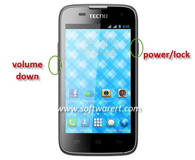 capture screen on tecno mobile phone