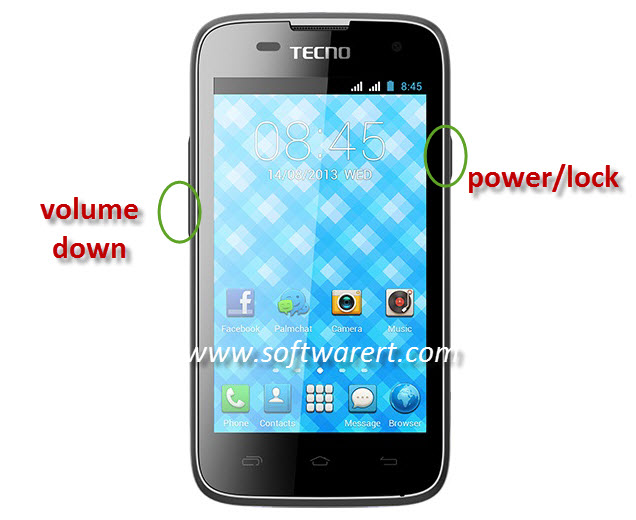 capture screen on tecno mobile phone