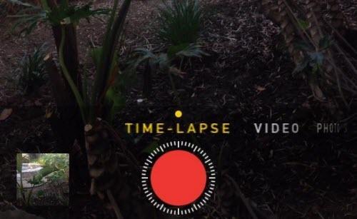 time-lapse video ipad iphones ios8