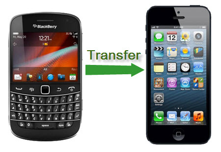 transfer blackberry to iphone