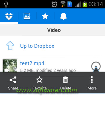 Dropbox vids
