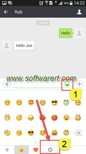Add custom stickers to WeChat for Android