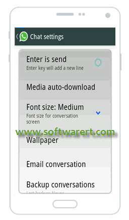 Configure WhatsApp Media Auto-download on Android