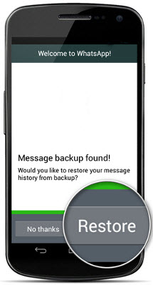 Restore single chat from whatsapp backup