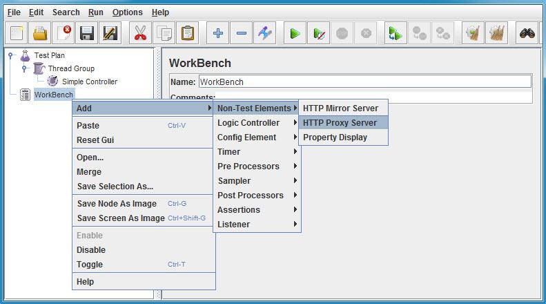 Recording Traffic using Apache JMeter HTTP Proxy Server (4/6)