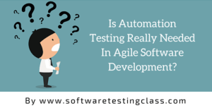 automation testing in agile software development