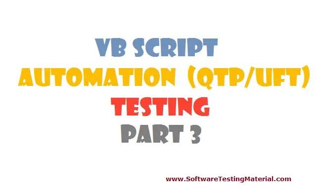 vbscript - part 3