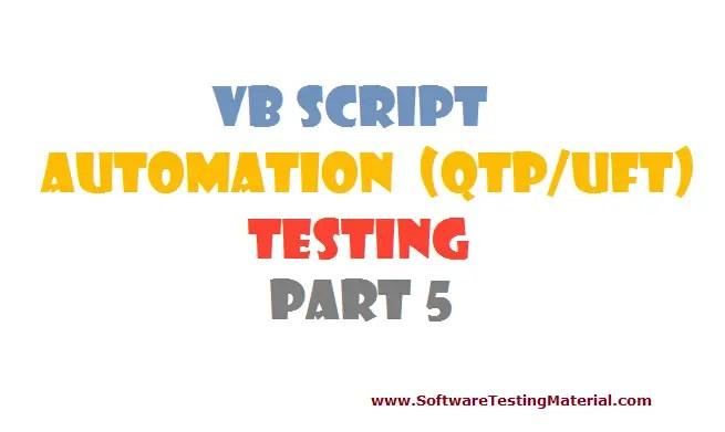 vbscript - part 5
