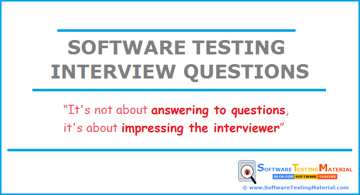 Top 100 Software Testing Interview Questions & Answers | Software