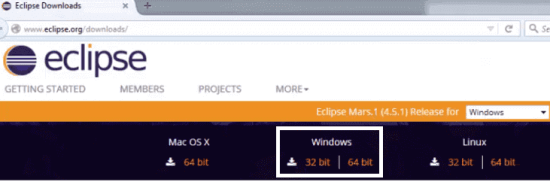 Install Eclipse - Download Eclipse