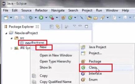 Install Selenium WebDriver - Create Class