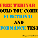 Webinar: Should You Combine Functional And Performance Testing