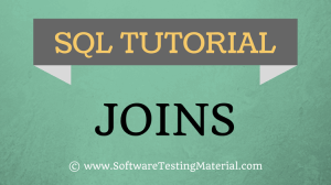 SQL Joins – Left, Right, Inner And Full Outer Join – SQL Tutorial | Software Testing Material