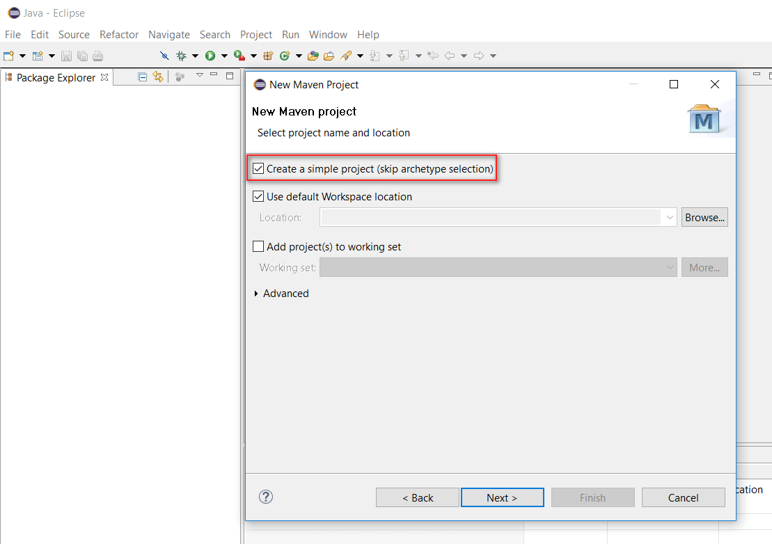 How to create selenium maven project in eclipse ide selenium create maven project baditri Choice Image