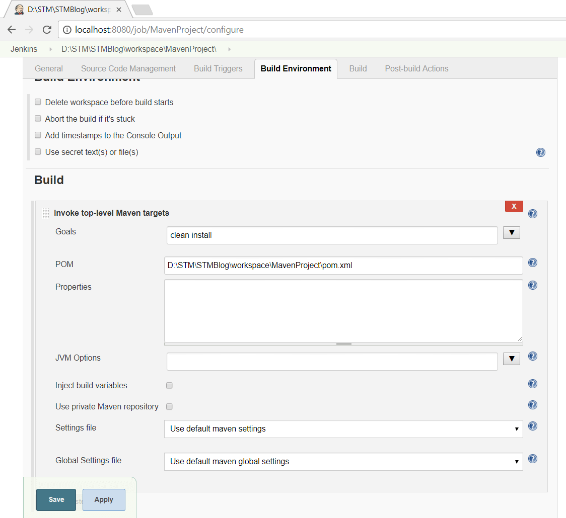 How To Execute Maven Project Using Jenkins | Software