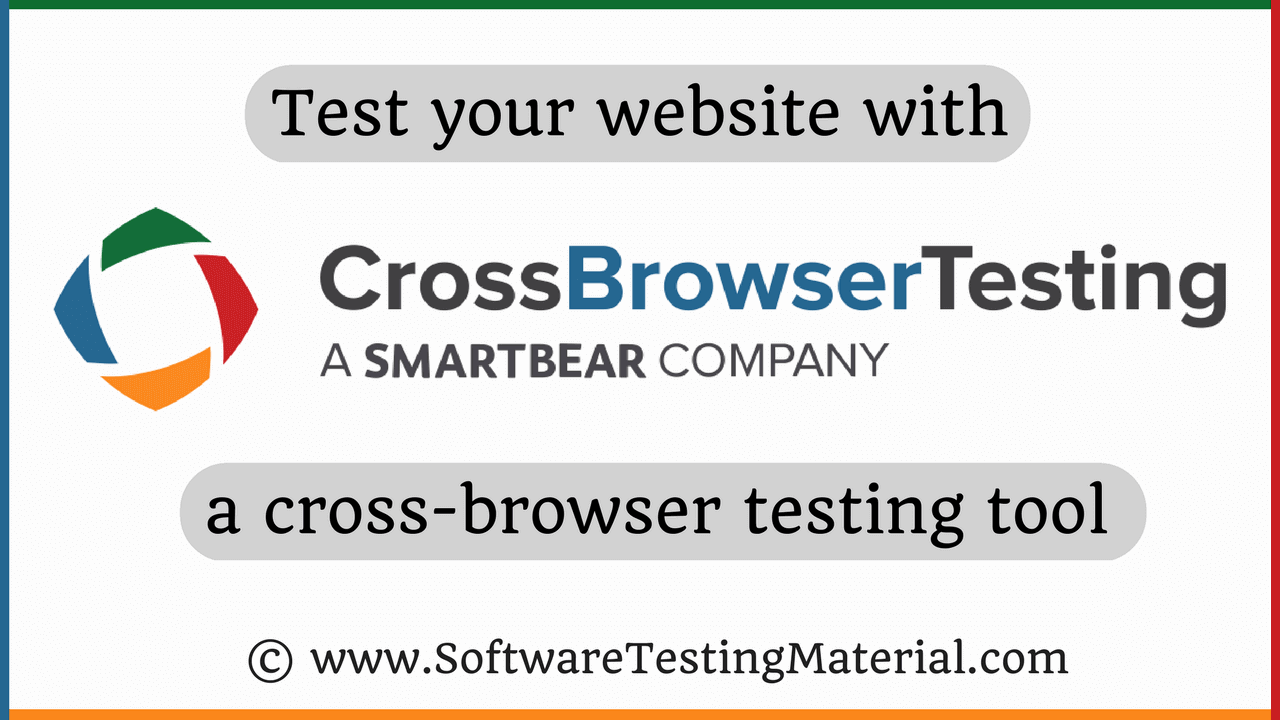 Cross browser testing using crossbrowsertesting tool a review by test tools i came across crossbrowsertesting and tried their free trial i found it very useful to run my tests on different browsers both manual and baditri Gallery