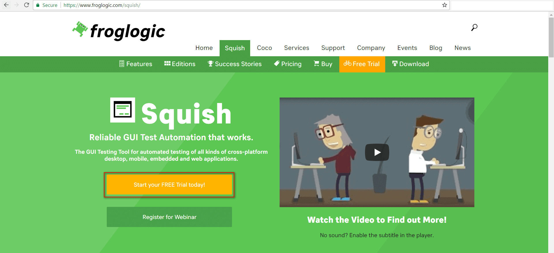 Froglogic Squish GUI Automation Tool | A Review By Software