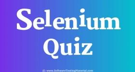Selenium Quiz