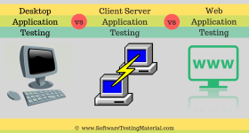 Desktop Client Server Web Application Testing