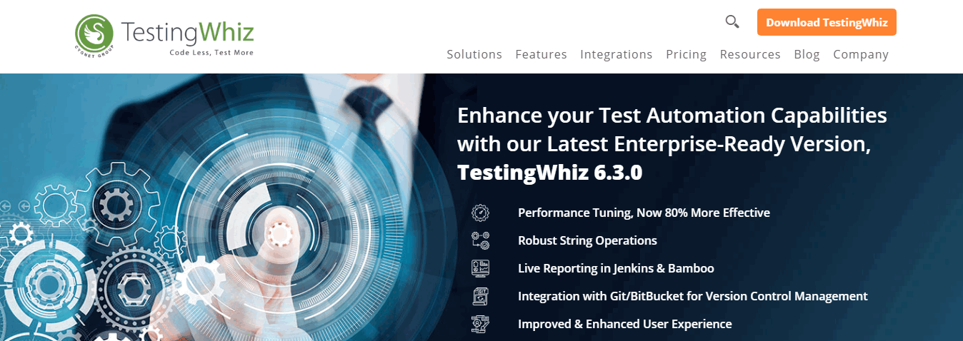 Testing Whiz