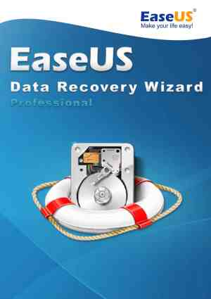 EaseUS Data Recovery Wizard Professional WIN - Packshot