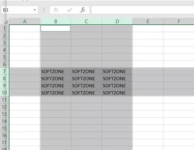Seleccionar columnas Excel