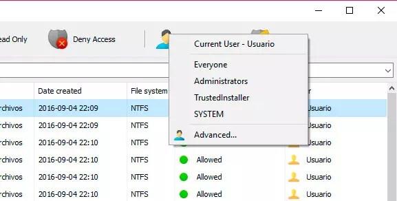 NTFS Permissions tool