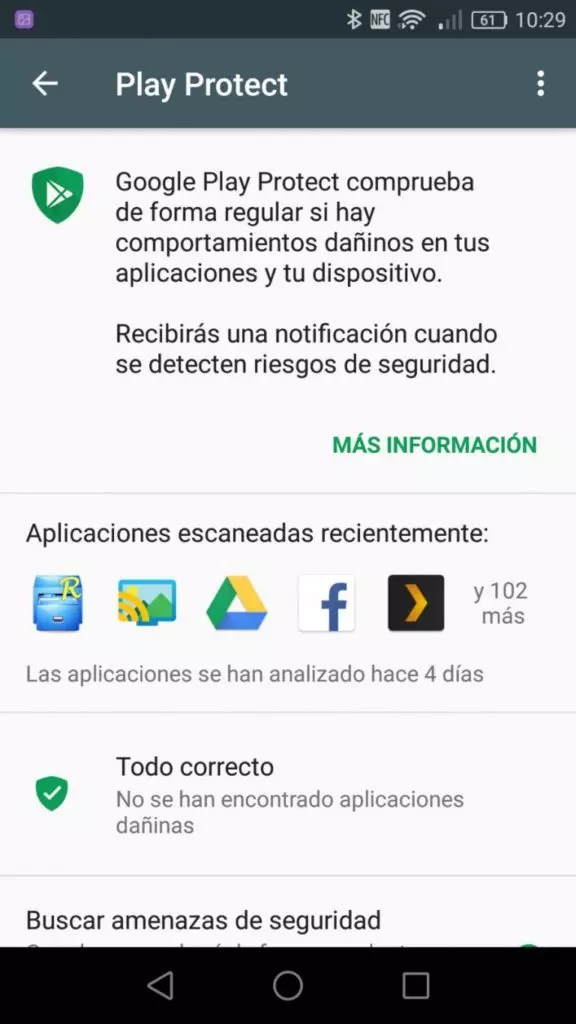 Google Play Protect en Android