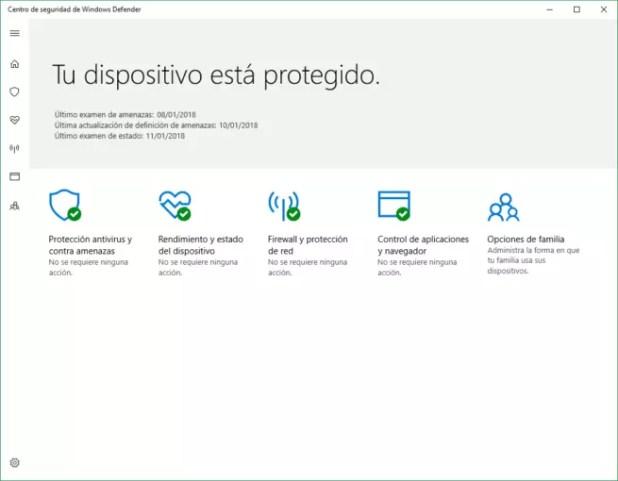 Windows Defender Windows 10 2018