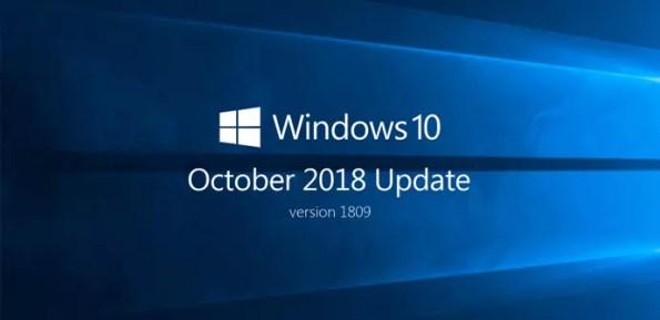 Resultado de imagen de windows 10 october