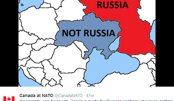 'Geography can be tough': Canadian Twitter account pokes fun at Russian soldiers' claims