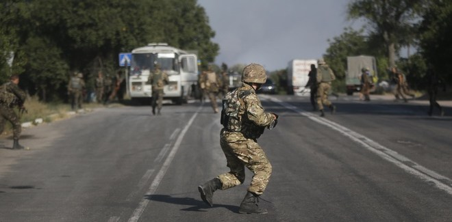 Obama Says Still No Ukraine Intervention As More Russians Cross Border