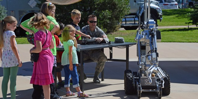 Children learn about science, technology, engineering, math at Peterson festival